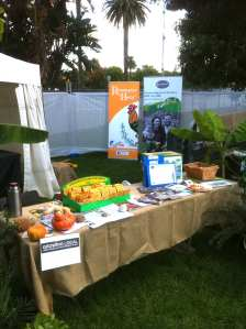 Our table at Taste of Sydney